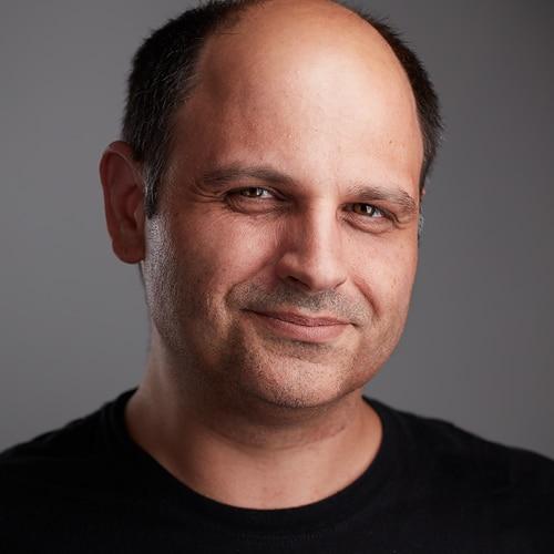 Markus Schänzle, Headshot by Peter Hurley