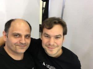 Chris, ebenfalls ein Headshot-Kollege aus Berlin